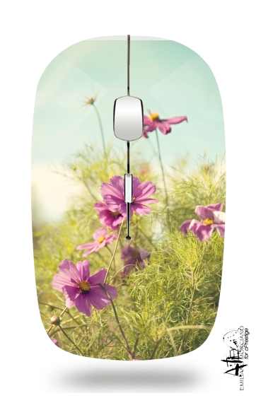 summer cosmos for Wireless optical mouse with usb receiver
