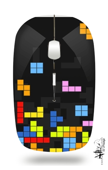 Tetris Like for Wireless optical mouse with usb receiver