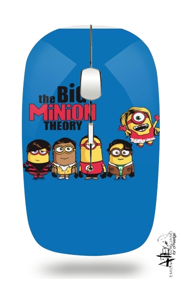 The Big Minion Theory for Wireless optical mouse with usb receiver