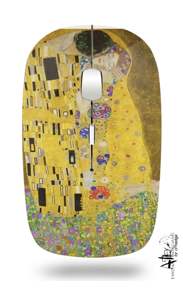 The Kiss Klimt for Wireless optical mouse with usb receiver