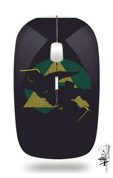 Triforce Art for Wireless optical mouse with usb receiver