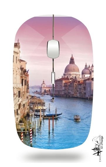 Venice - the city of love for Wireless optical mouse with usb receiver