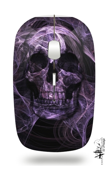 Violet Skull for Wireless optical mouse with usb receiver