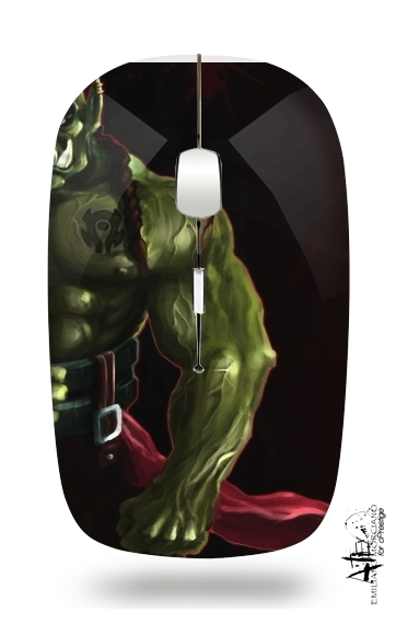 Warcraft Horde Orc for Wireless optical mouse with usb receiver