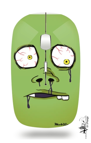 Zombie Face for Wireless optical mouse with usb receiver