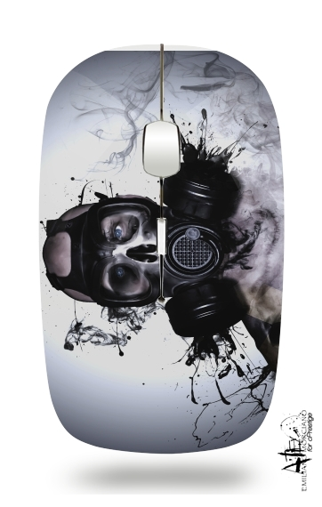 Zombie Warrior for Wireless optical mouse with usb receiver