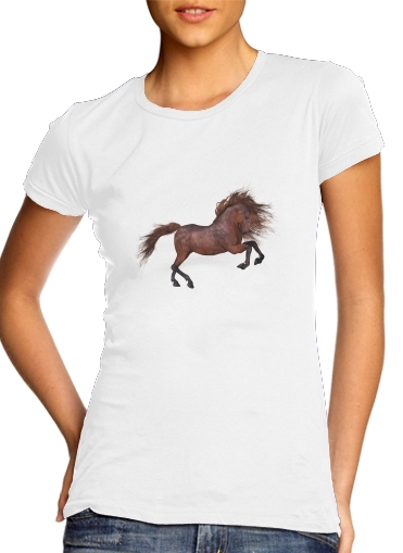 A Horse In The Sunset for Women's Classic T-Shirt