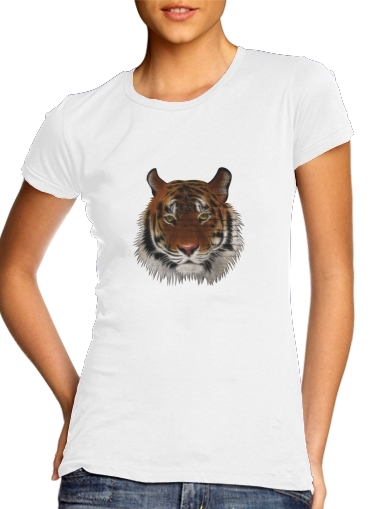 Abstract Tiger for Women's Classic T-Shirt