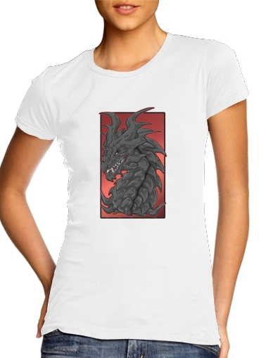 woment Aldouin Fire A dragon is born T-Shirts
