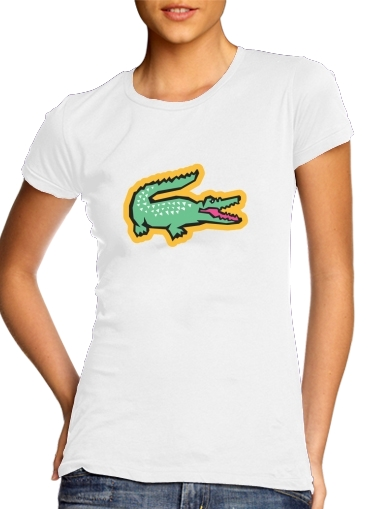 woment alligator crocodile lacoste T-Shirts