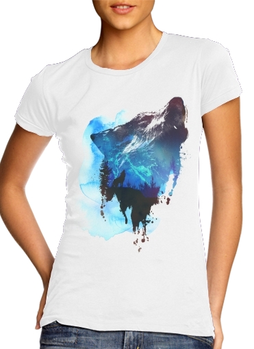 Alone as a wolf for Women's Classic T-Shirt