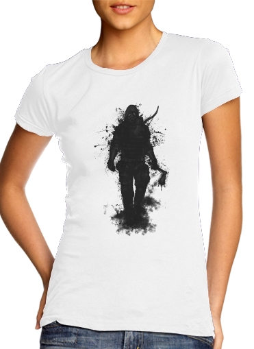 woment Apocalypse Hunter T-Shirts