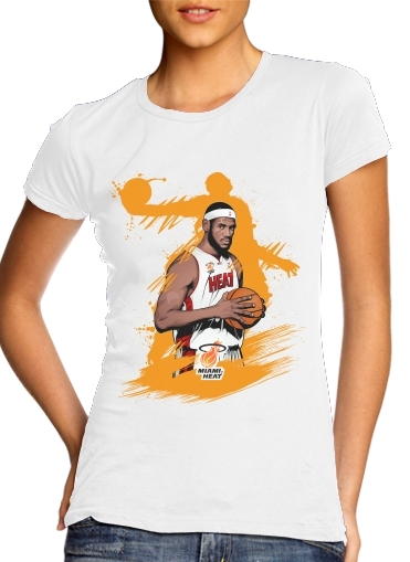 T-Shirts Basketball Stars: Lebron James