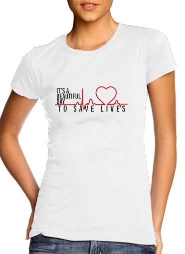 woment Beautiful Day to save life T-Shirts