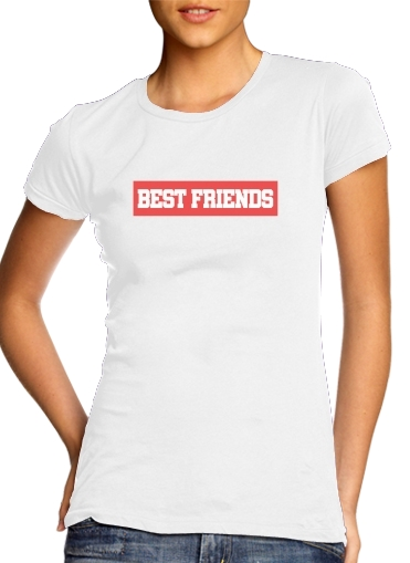 BFF Best Friends Pink for Women's Classic T-Shirt