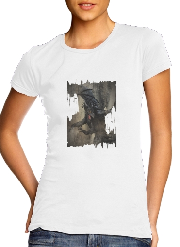 Black Dragon for Women's Classic T-Shirt