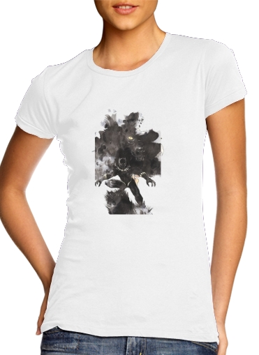 woment Black Panther Abstract Art Wakanda Forever T-Shirts