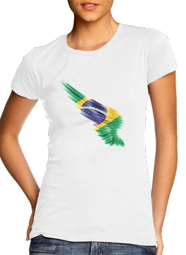 woment Brazil Selecao Home T-Shirts