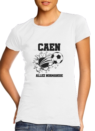 Caen Football Shirt for Women's Classic T-Shirt