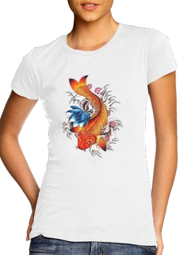 woment Carpe japonaise T-Shirts
