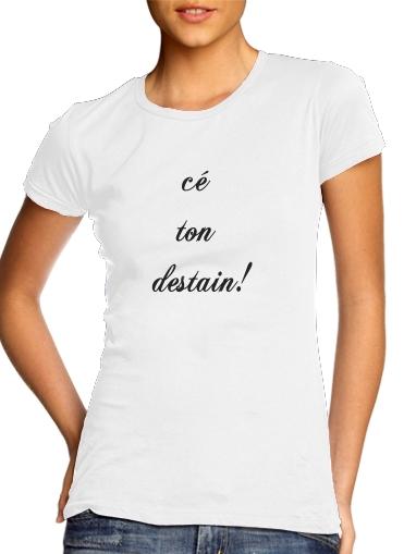 T-Shirts ce ton destain