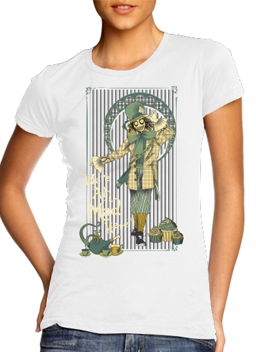 woment Chapelier fou T-Shirts