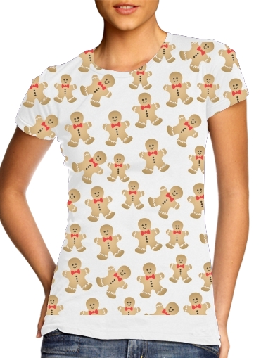 Christmas snowman gingerbread for Women's Classic T-Shirt