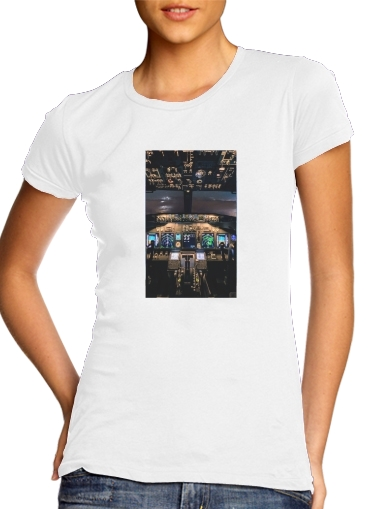 Cockpit Aircraft for Women's Classic T-Shirt