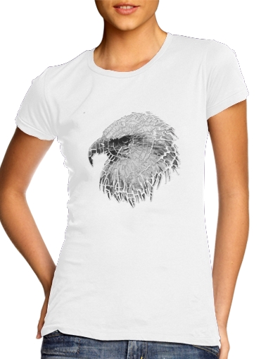 cracked Bald eagle  for Women's Classic T-Shirt