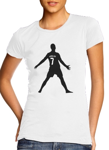 T-Shirts Cristiano Ronaldo Celebration Piouuu GOAL Abstract ART