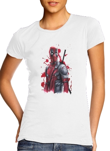 Deadpool Painting for Women's Classic T-Shirt