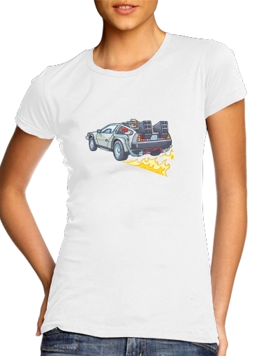 Delorean retour vers le futur for Women's Classic T-Shirt