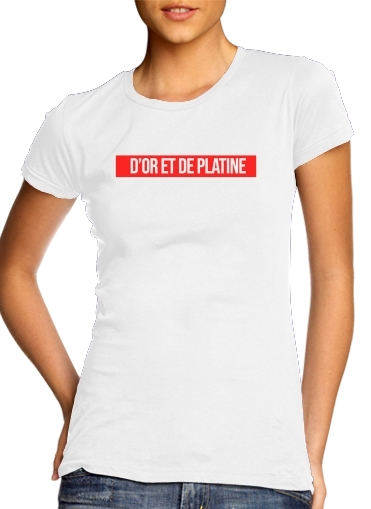 woment Dor et de platine T-Shirts