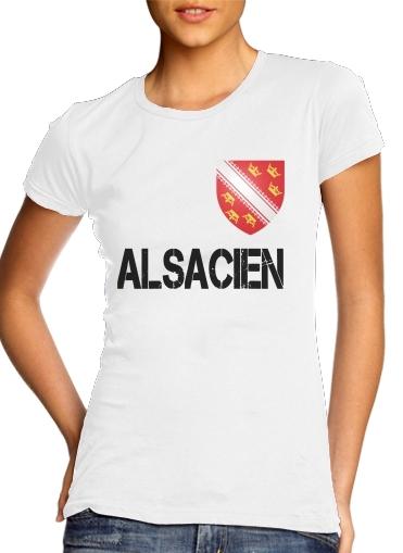 T-Shirts Drapeau alsacien Alsace Lorraine