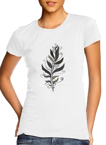Feather minimalist for Women's Classic T-Shirt