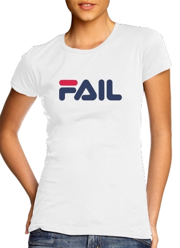 T-Shirts Fila Fail Joke