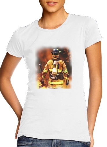 woment Firefighter T-Shirts