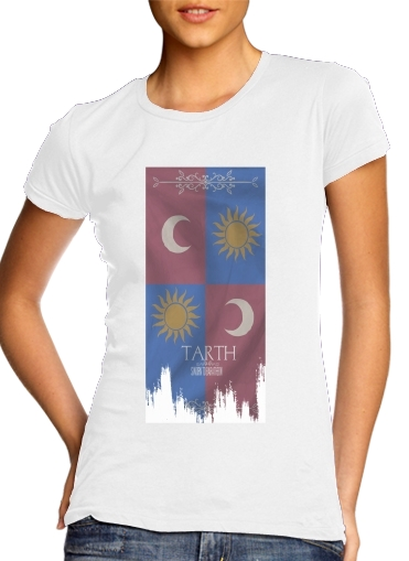 woment Flag House Tarth T-Shirts