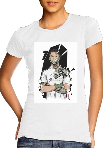 Football Legends: Cristiano Ronaldo - Real Madrid Robot for Women's Classic T-Shirt