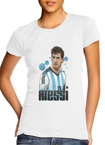 Football Legends: Lionel Messi World Cup 2014 for Women's Classic T-Shirt