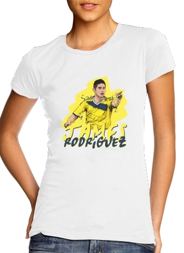 Football Stars: James Rodriguez - Colombia for Women's Classic T-Shirt