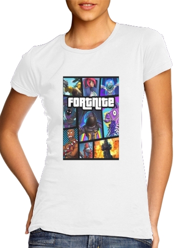 woment Fortnite - Battle Royale T-Shirts