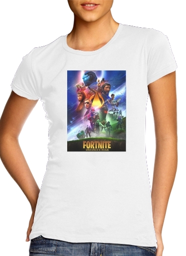 T-Shirts Fortnite Skin Omega Infinity War