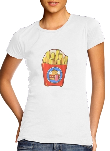 Women's Classic T-Shirt for French Fries by Fortnite