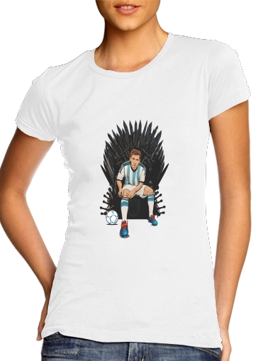 Game of Thrones: King Lionel Messi - House Catalunya for Women's Classic T-Shirt
