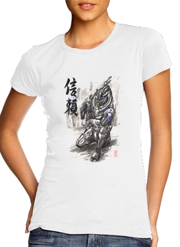 woment Garrus Vakarian Mass Effect Art T-Shirts