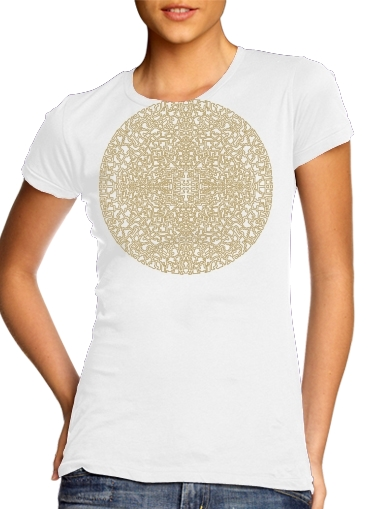 Mandala (Boho Moroccan) for Women's Classic T-Shirt