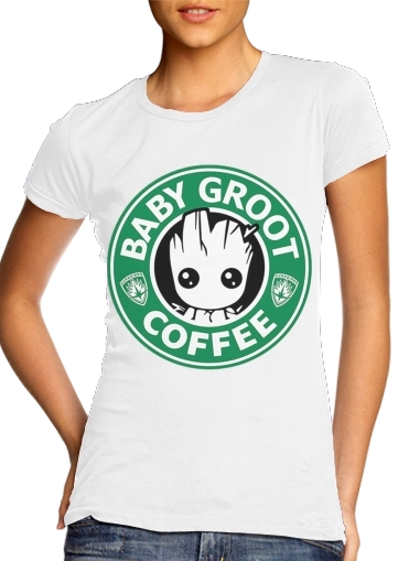 woment Groot Coffee T-Shirts