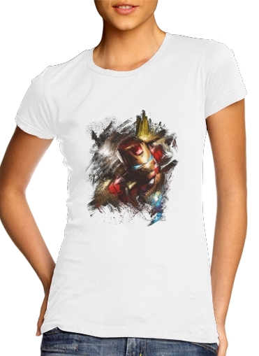 Grunge Ironman for Women's Classic T-Shirt