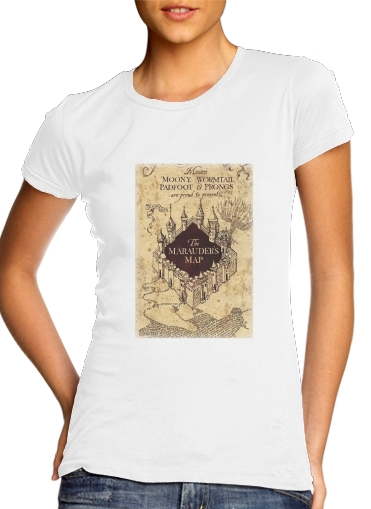 Harry Potter Marauder Map for Women's Classic T-Shirt